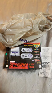 BRAND NEW SNES CLASSIC FOR XMAS!!-ALL OTHER STORES ARE SOLD OUT!