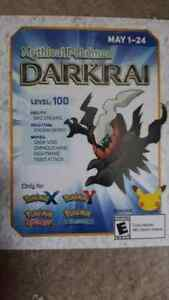 Unused Darkrai code
