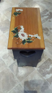 Hall Bench Hand Painted New Price Belleville Belleville Area image 2