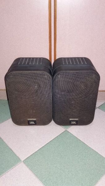 QUALITY JBL CONTROL 1G SURROUND MUSIC SPEAKERS.