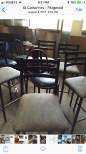 Assorted bar stools & chairs