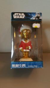 Star Wars Holiday 3-CPO Bobble Head