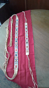 Child's ceremonial Belt with Headband