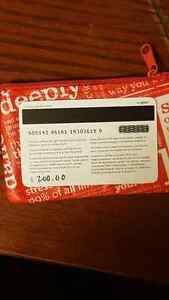 Lululemon  Gift Cards $200 for $150