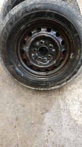 185/70/14 Goodyear Tires/5x114.3 Rims