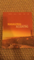 Managerial Accounting Ninth Canadian Edition textbook