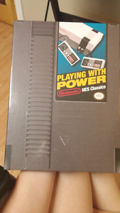 Playing with power Nintendo NES classics NEW