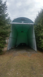 RV/5thWheel/Pull Trailer Portable Garage