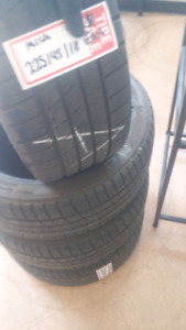 225/45R18 MICHELINS PILOT SPORT A/S 3 SET USED 80%