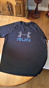 Under Armour Running shirts or Gym wear (2 both Large)