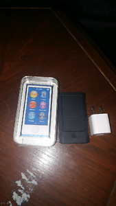 Ipod Nano 5th gen for sale with case and apple usb wall charger