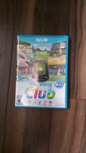 Wii U Wii Sports Club (hard to find!)