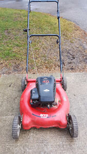 MTD aQuatro Push Lawnmower