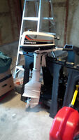 1980 4hp Chrysler outboard motor