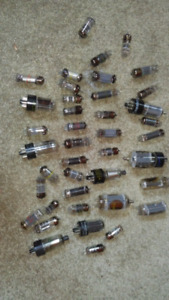Lot of radio/amp tubes of all sorts