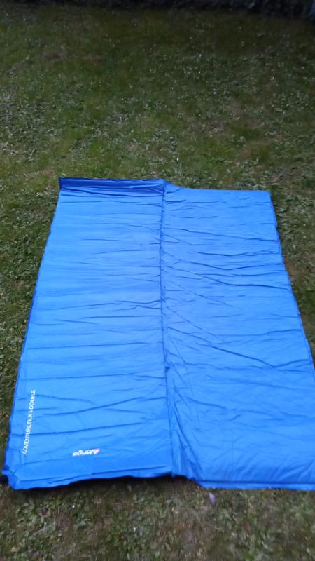 7.5cm Vango Odyssey 7.5 Double Self Inflating Sleep Mat Epsom Green
