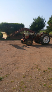For Sale 1250 Cockshutt Tractor with Loader