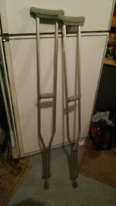 Bequilles aluminum crutches