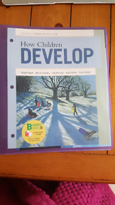 How Children Development fourth Canadian edition
