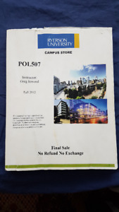 POL507 Ryerson Coursebook, by Greg Inwood