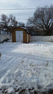 Cozy 1 Bedroom with fenced yard and good garage