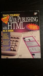 Teach Yourself More Web Publishing with HTML in a week