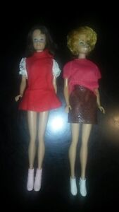 Vintage Bubble Cut Barbie and Skipper Dolls London Ontario image 1