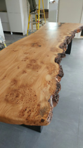 Beautiful Live Edge and Reclaimed Wood Tables, Desks, Beds