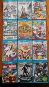 Wii U Games Collection (Together or Individually)