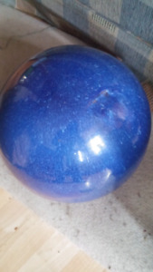 Blue decor ball