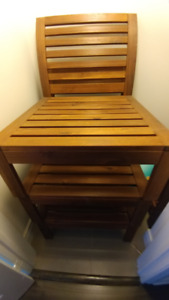 brand new set of  ikea applaro outdoor table and seat sections