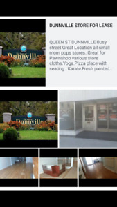 STORE FOR LEASE Dunnville Halton AREA.