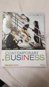 CONTEMPORARY BUSSINESS (binder version) Kingston Kingston Area image 1