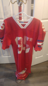 Montreal Alouettes Jersey and Bench Coat