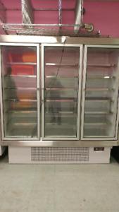 Freezer, Display case, freezer, cooking pot
