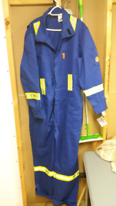 Brand new Marv Holland fire resistant coveralls