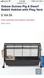 Pet cage and supplies guinea pig rabbit bunny