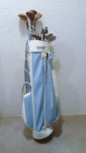 Ladies Golf Bag and Club Set