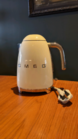 SMEG retro cream kettle