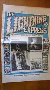 Lightning Express Newspaper 1976