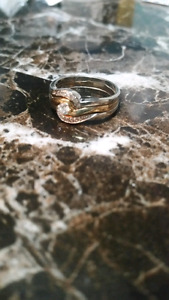 Ring -  white and yellow gold