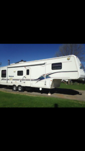 Roulotte Fifth wheel Montana, 2002, 34 pieds