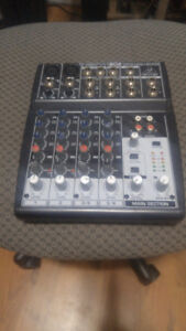 XENYX 802  MIXER & Fast Track Interface
