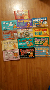 Garfield comic books as old as 1980s (paid over $80)