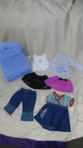 Lot of American Girl and Bitty Baby Items