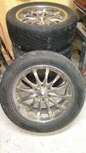 20'' Boss rims and Toyo tires
