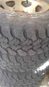 LT P235 75 R15 good year wrangler lots of thread and warranty re