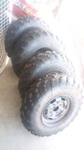 4x110 rims and tires for sale