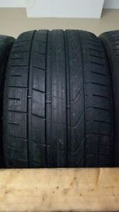 PAIR 265.35.20 Pirelli PZero Summer Tires, 75%, $80!!!!