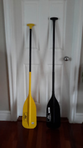 Avirons pour  canot Valley Paddles